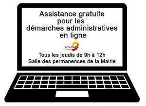 Assistance aux démarches administratives en ligne sur Eyragues