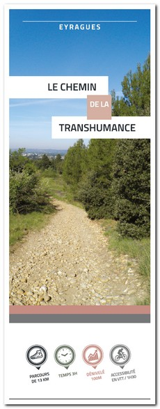 chemin de la transhumance Eyragues