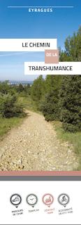 Chemin de randonnée, chemin de la transhumance à Eyragues