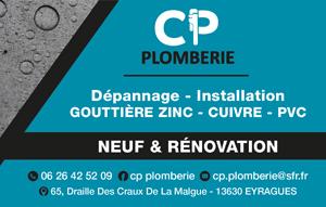 CP Plomberie Eyragues, dépannage plomberie et chauffage, neuf et rénovation