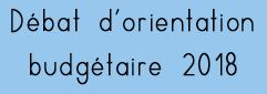 Débat d'orientation budgétaire 2018, commune d'Eyragues