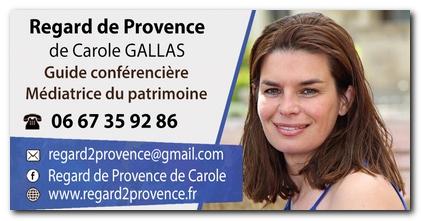 regard de Provence Carole GALLAS guide conférencière, médiatrice du patrimoine, Eyragues, Saint Rémy de Provence, Arles, Avignon
